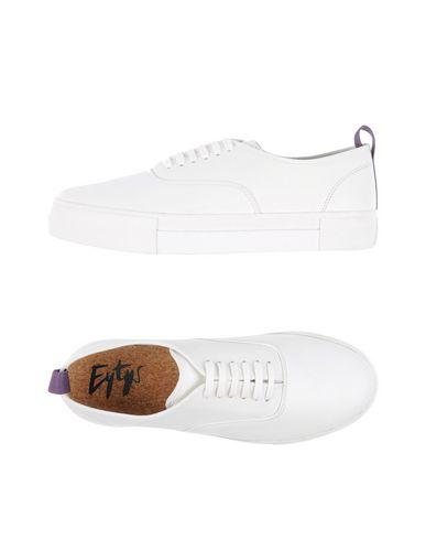 Eytys Lace-Up Sneakers In White