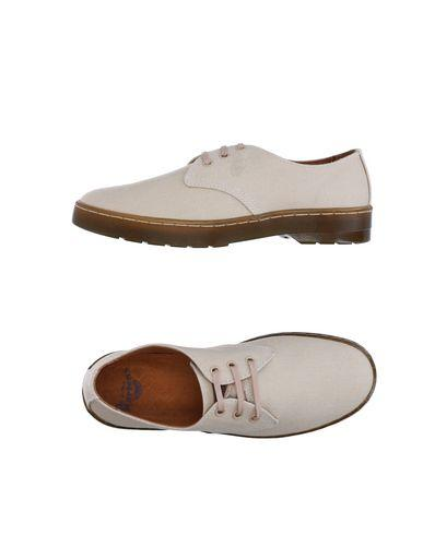 Dr. Martens Laced Shoes In Beige