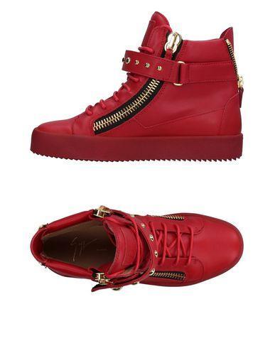 Giuseppe Zanotti Sneakers In Red