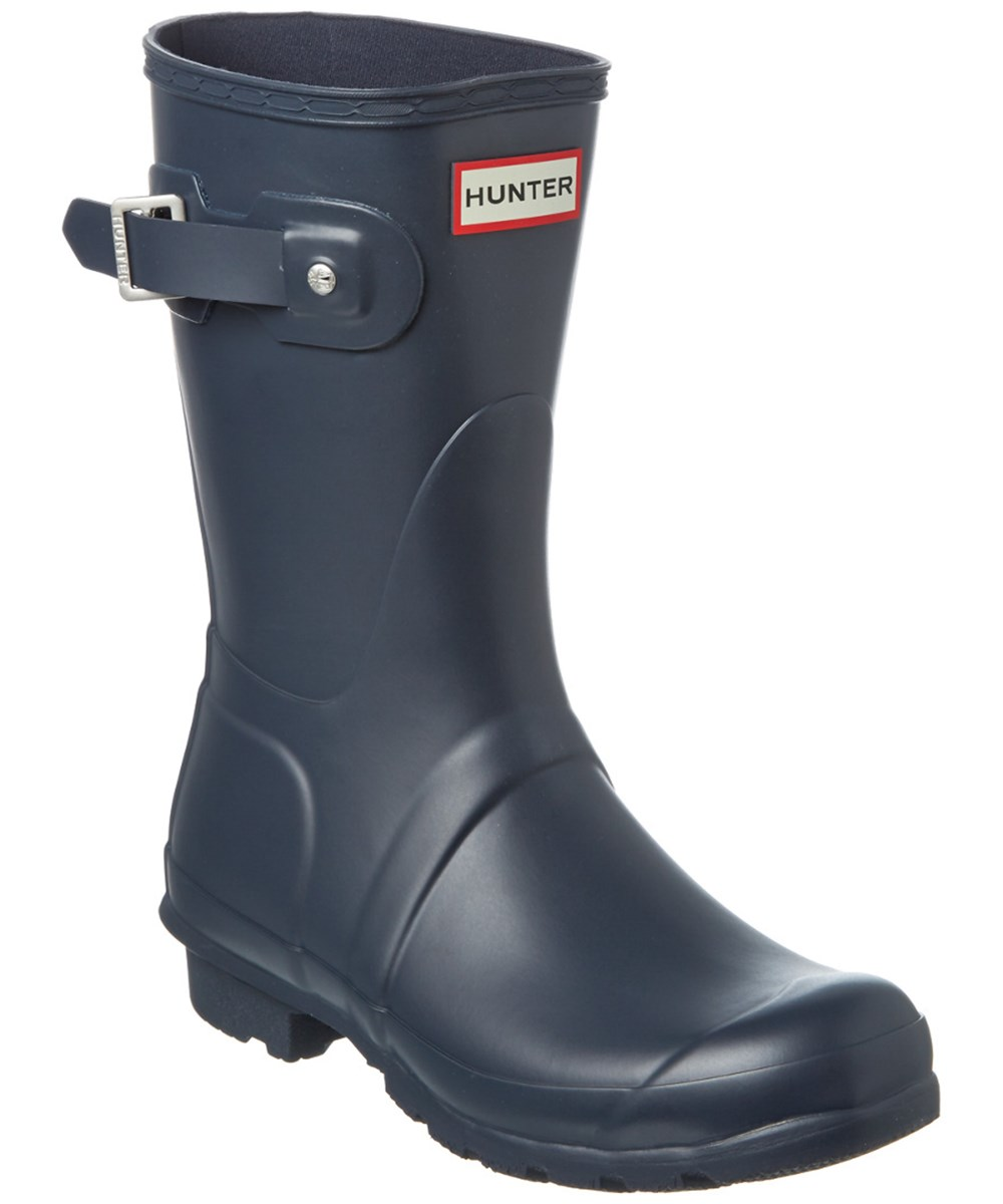 Hunter Women's Original Short Boot In Navy