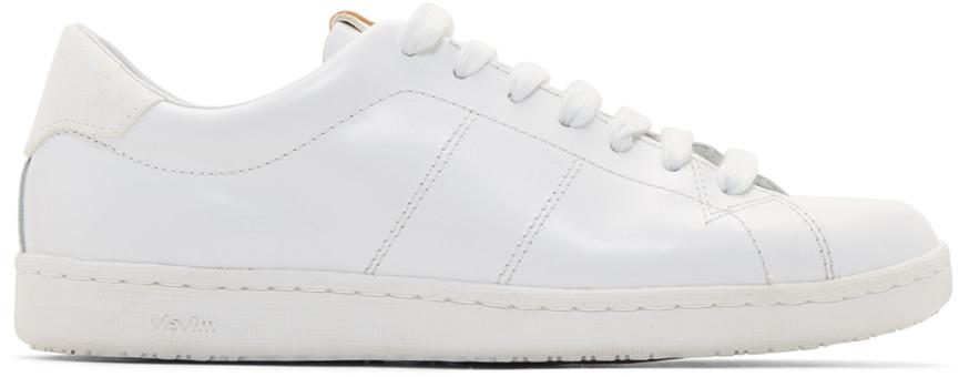 Visvim White Foley-Folk Sneakers