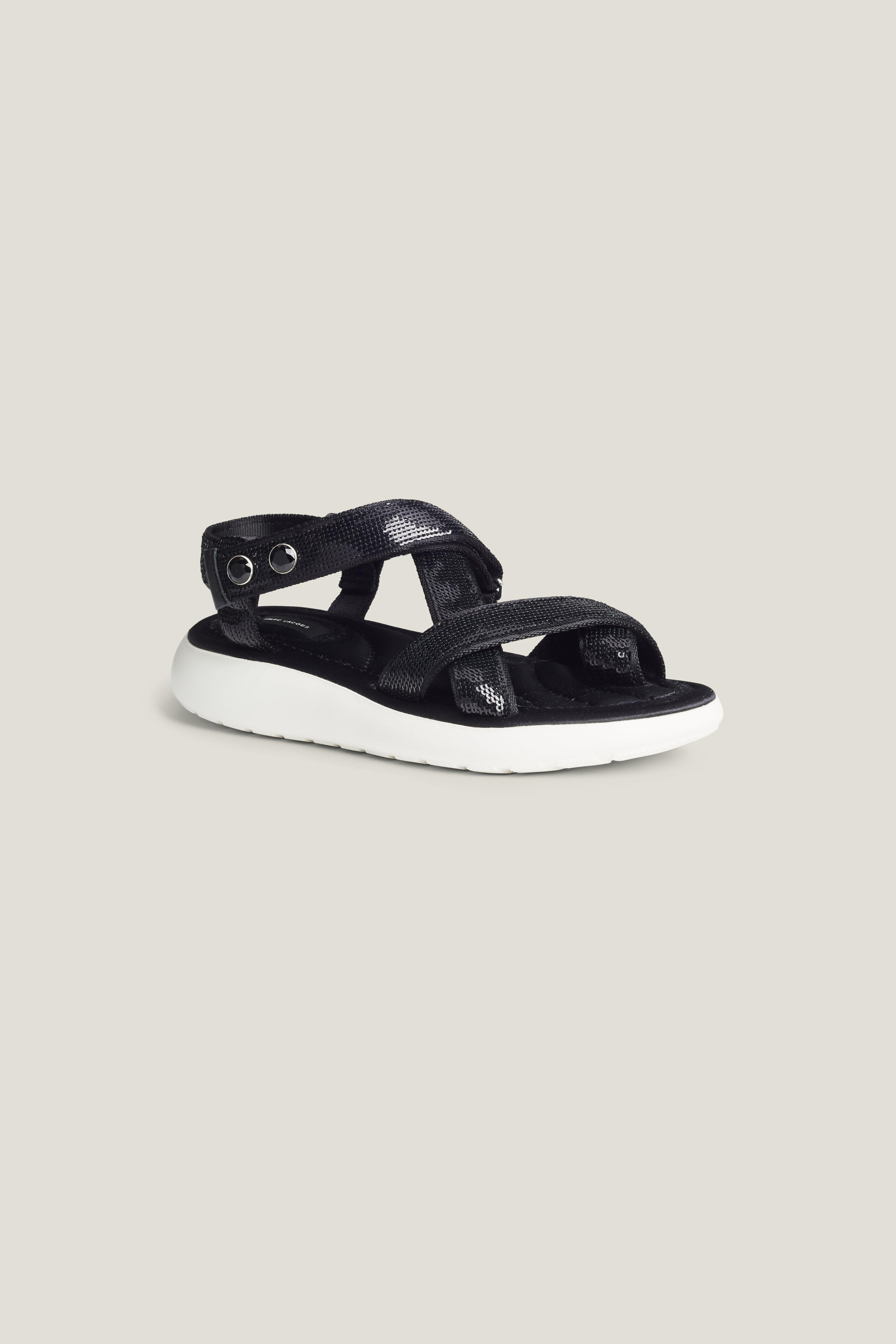 Marc Jacobs Comet Sport Sandal In Black