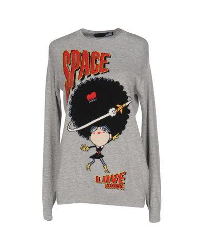 Love Moschino Sweater In Grey