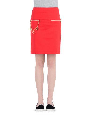 Love Moschino Knee Length Skirts In Red
