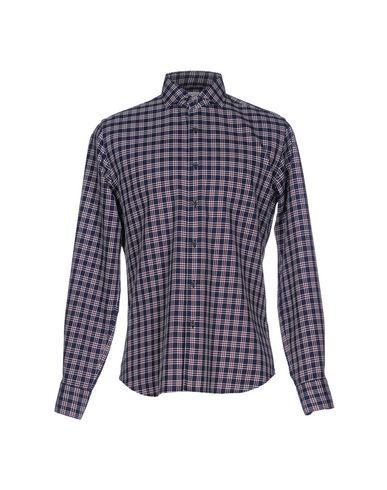 Xacus Checked Shirt In Dark Blue