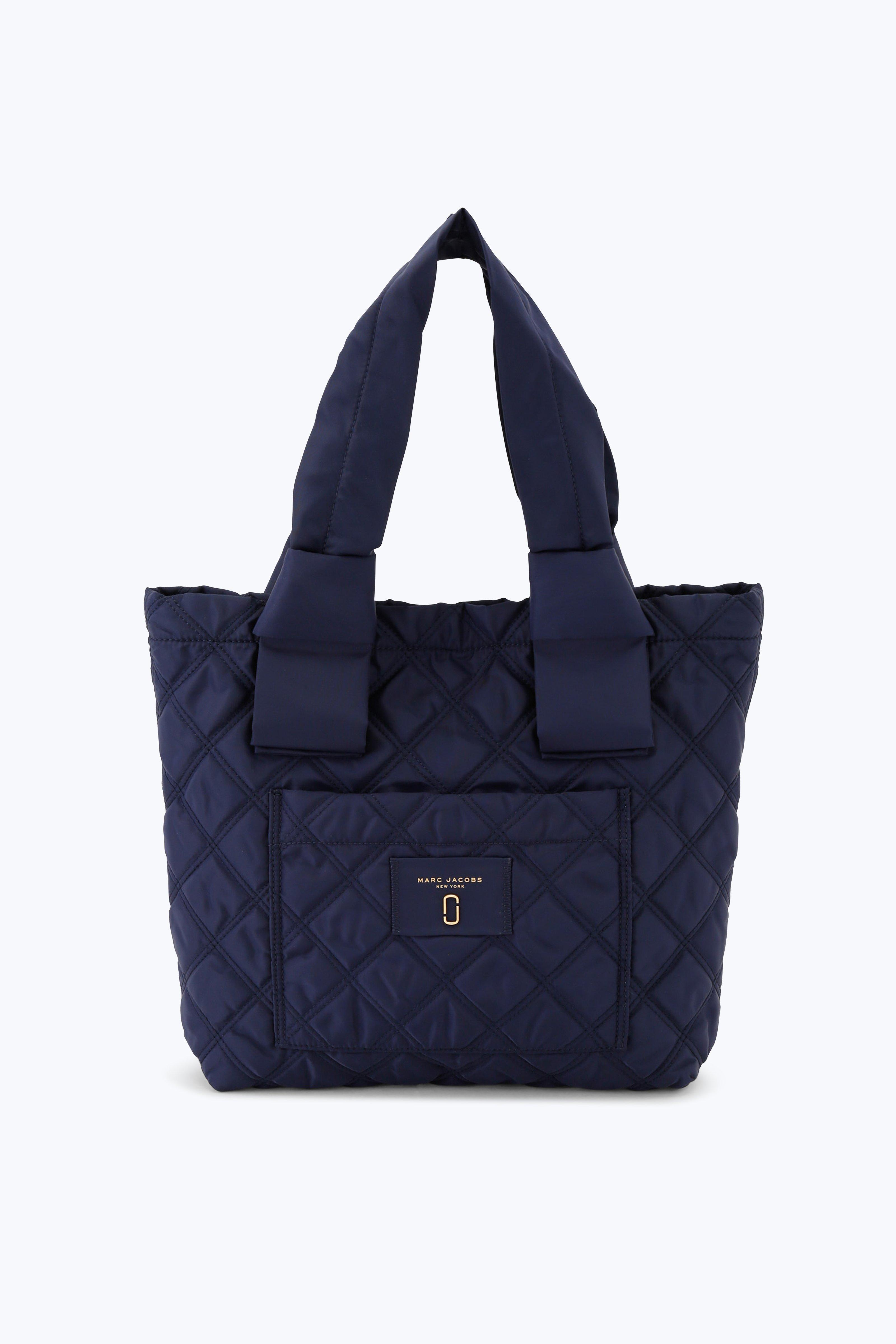 Marc Jacobs Nylon Knot Small Tote Bag In Midnight Blue