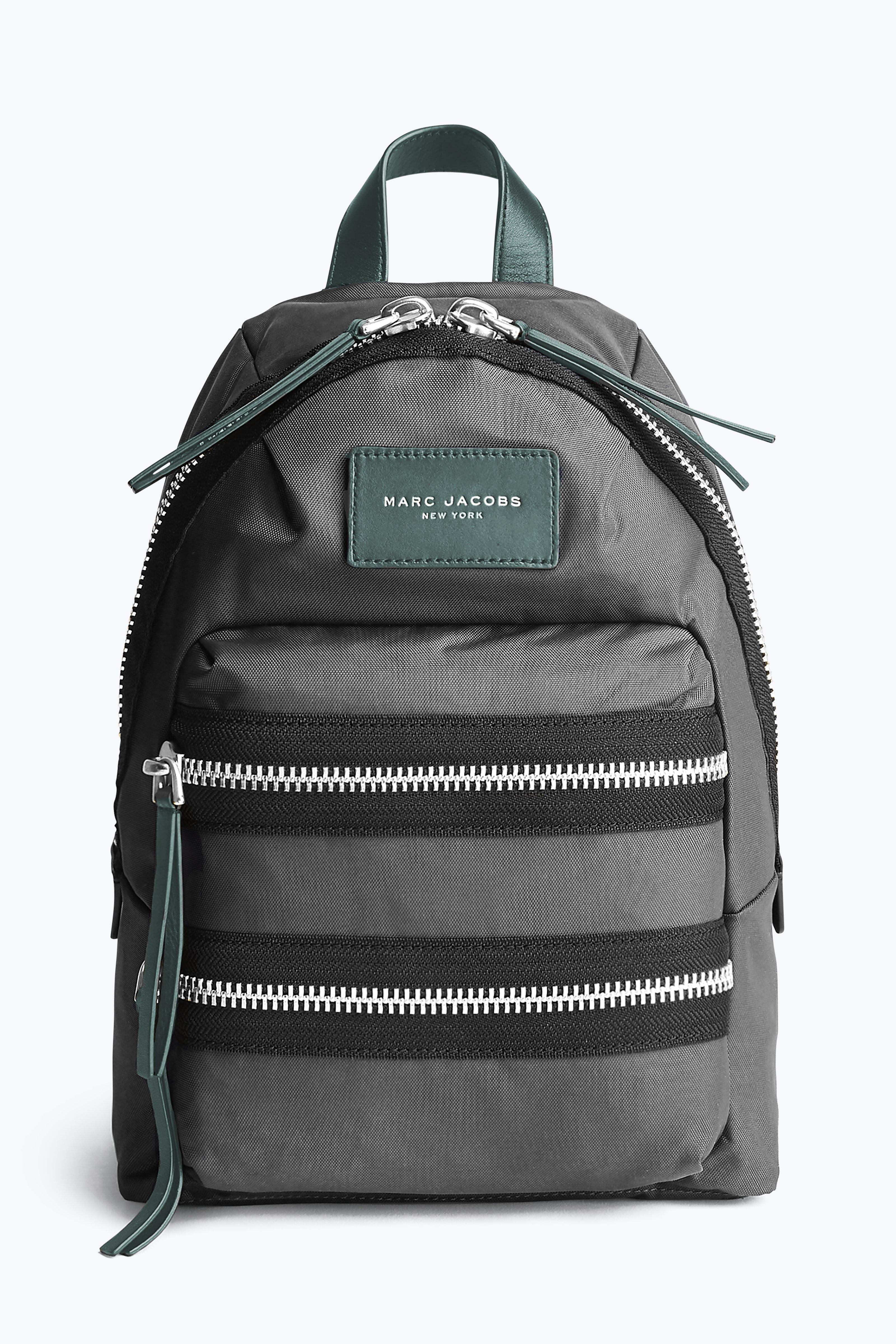 Marc Jacobs Nylon Biker Mini Backpack In Black