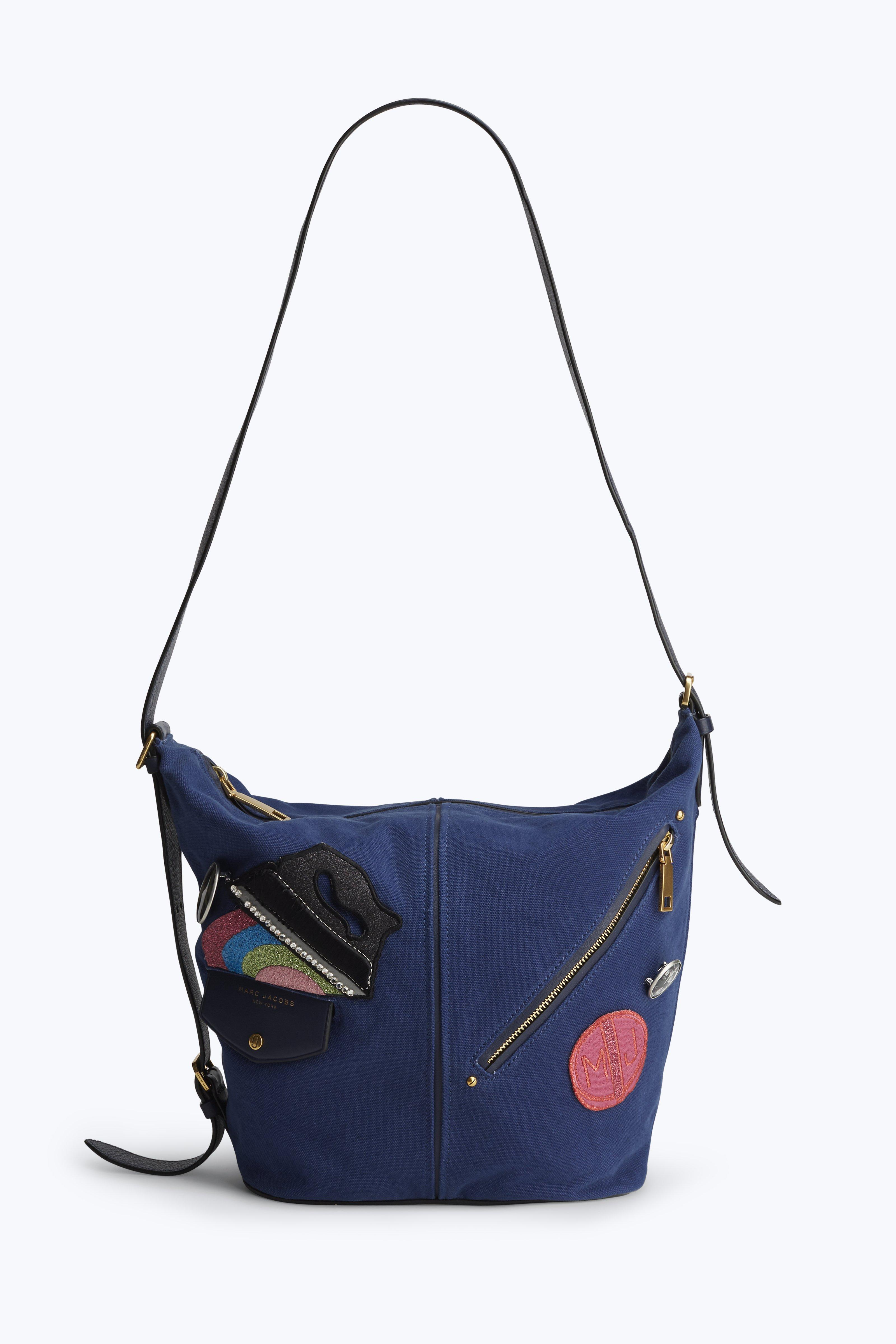 Marc Jacobs The Canvas Sling In Blue