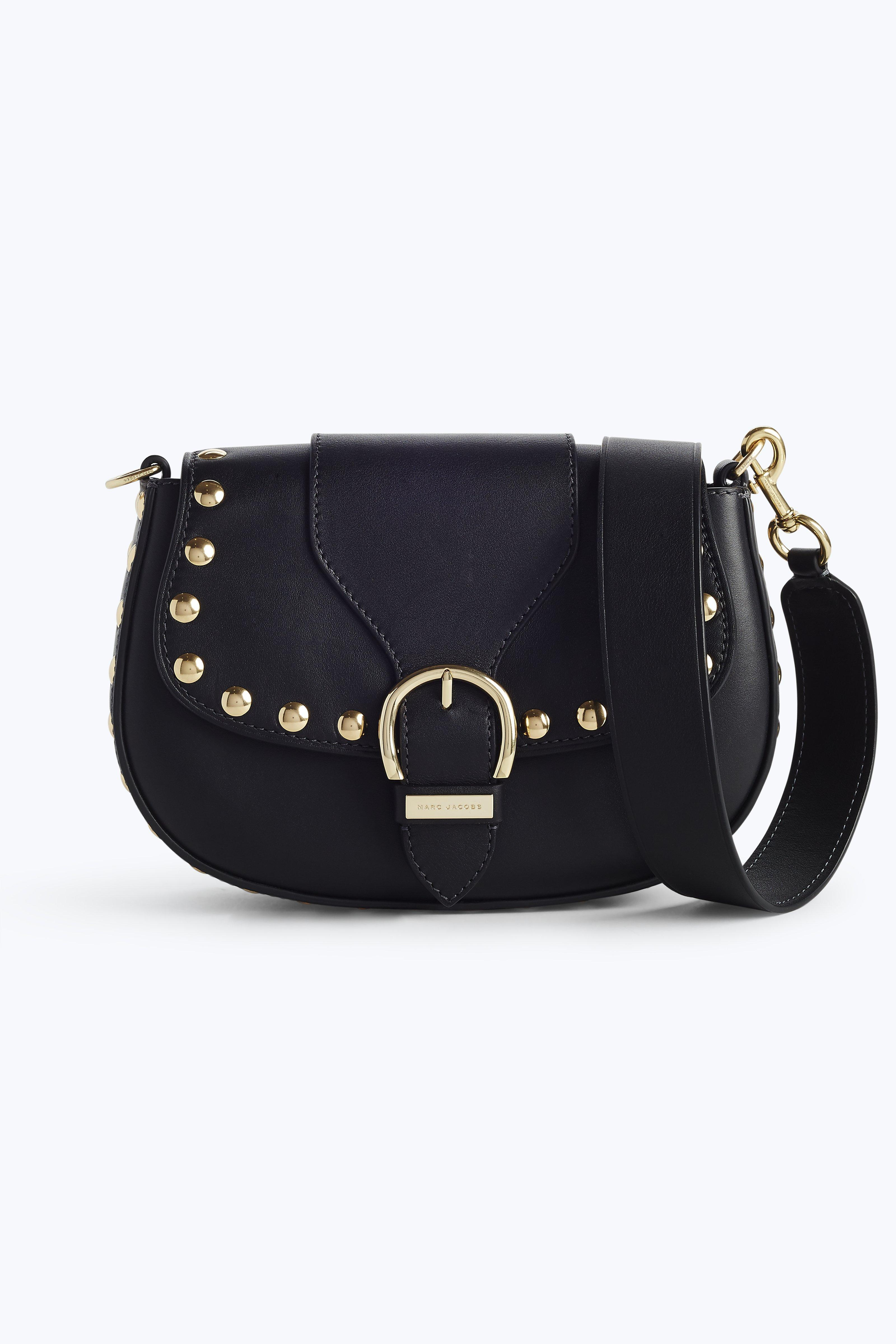 Marc Jacobs The Squeeze Shoulder Bag In Black Multi