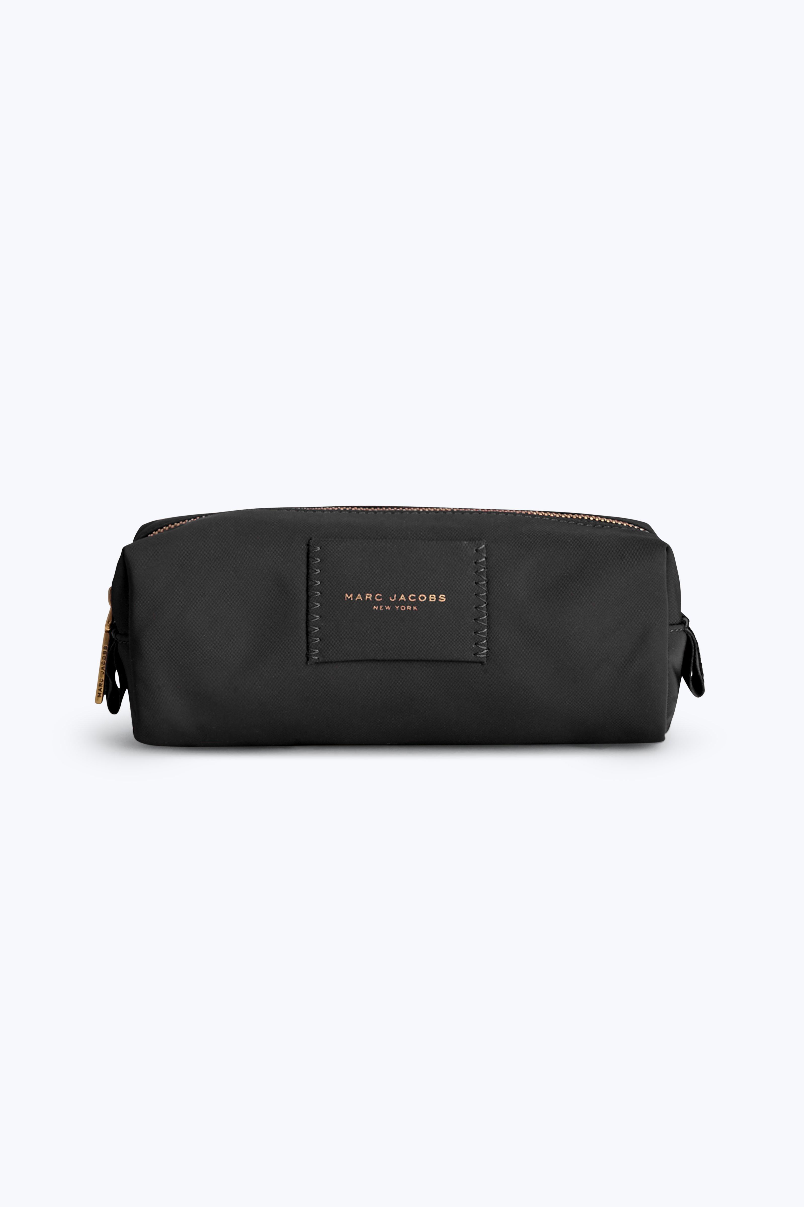 Marc Jacobs Nylon Knot Narrow Cosmetic Case In Black