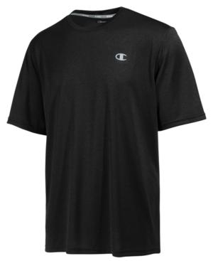 Champion Men's Vapor Performance T-Shirt In Black