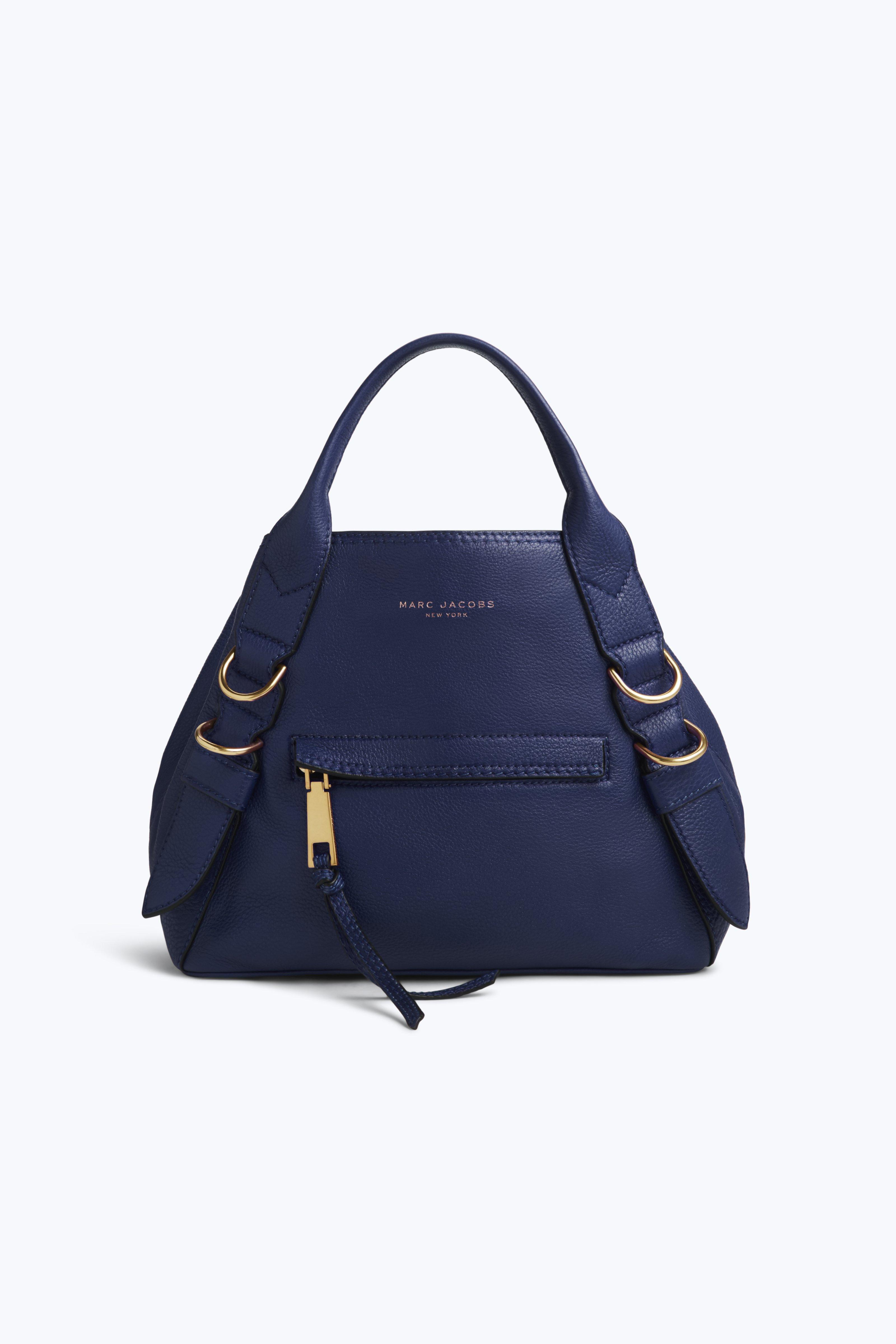 Marc Jacobs The Mini Anchor In Midnight Blue