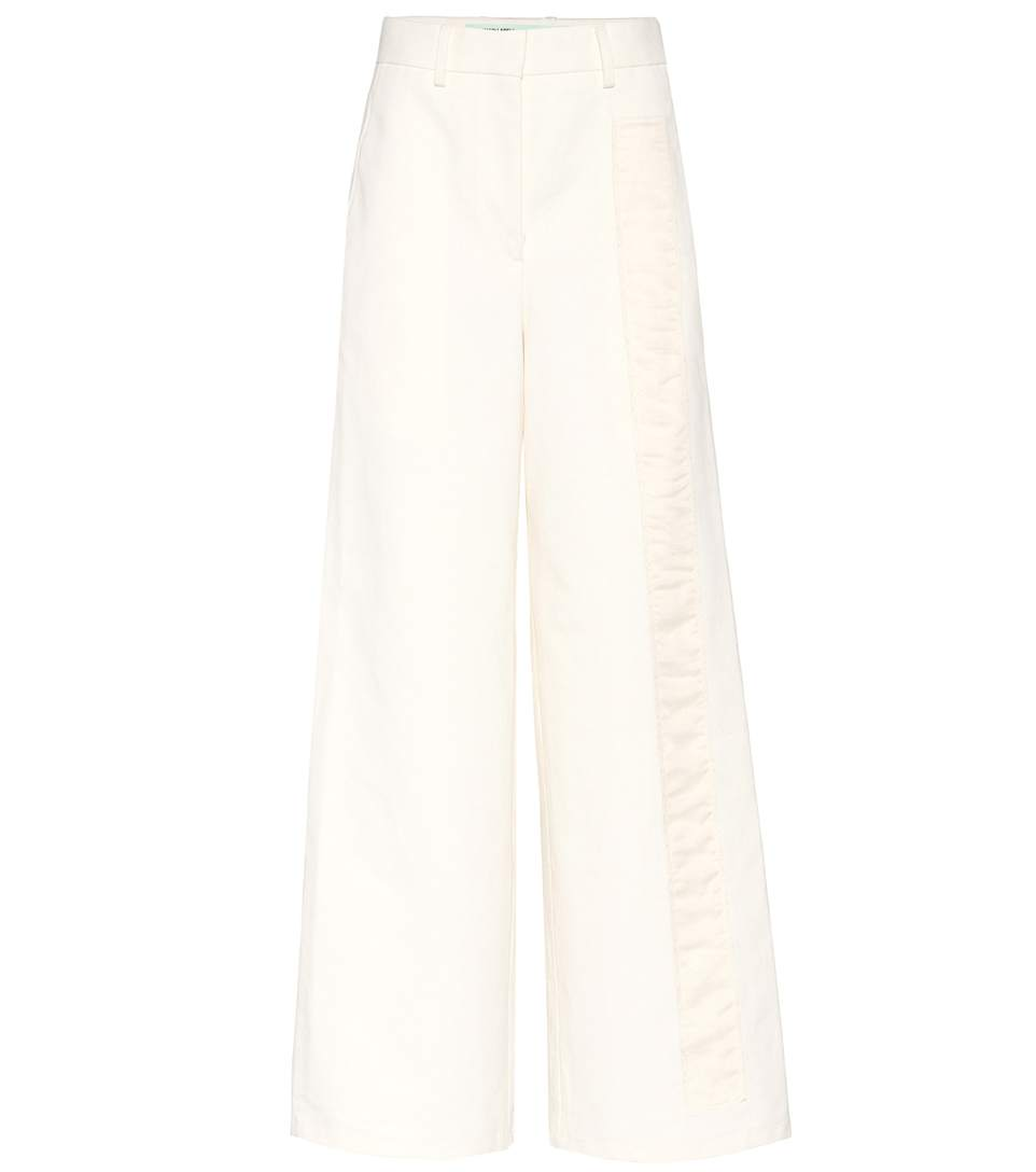 Off-White Exclusive To Mytheresa.Com - Tomboy Trousers In White