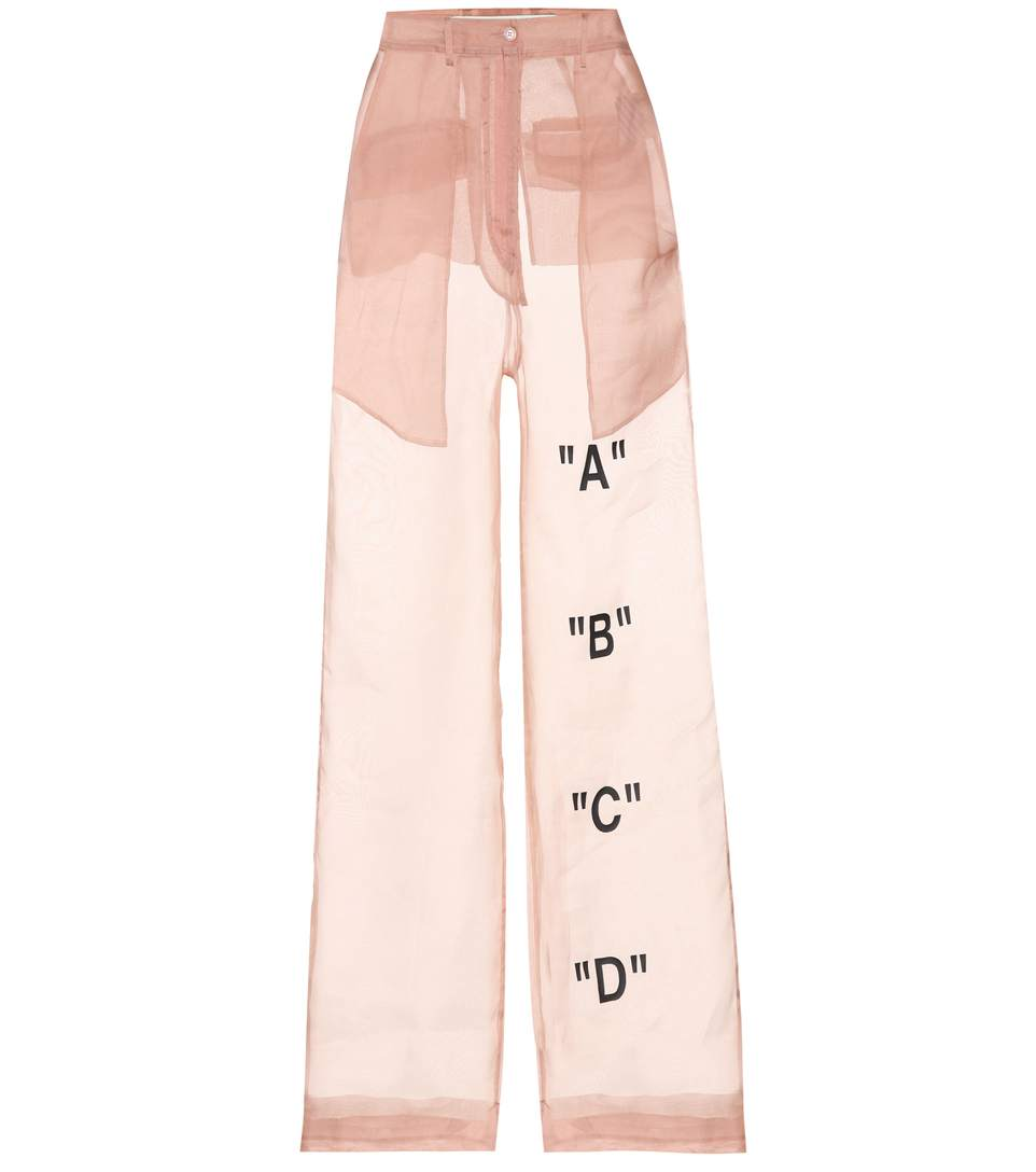 Off-White Exclusive To Mytheresa.Com - Tomboy Organza Trousers