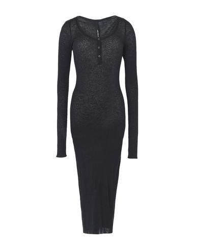 Isabel Benenato 3/4 Length Dresses In Black