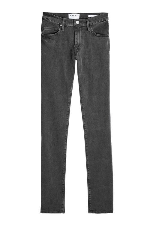 Frame Slim Jeans In Grey
