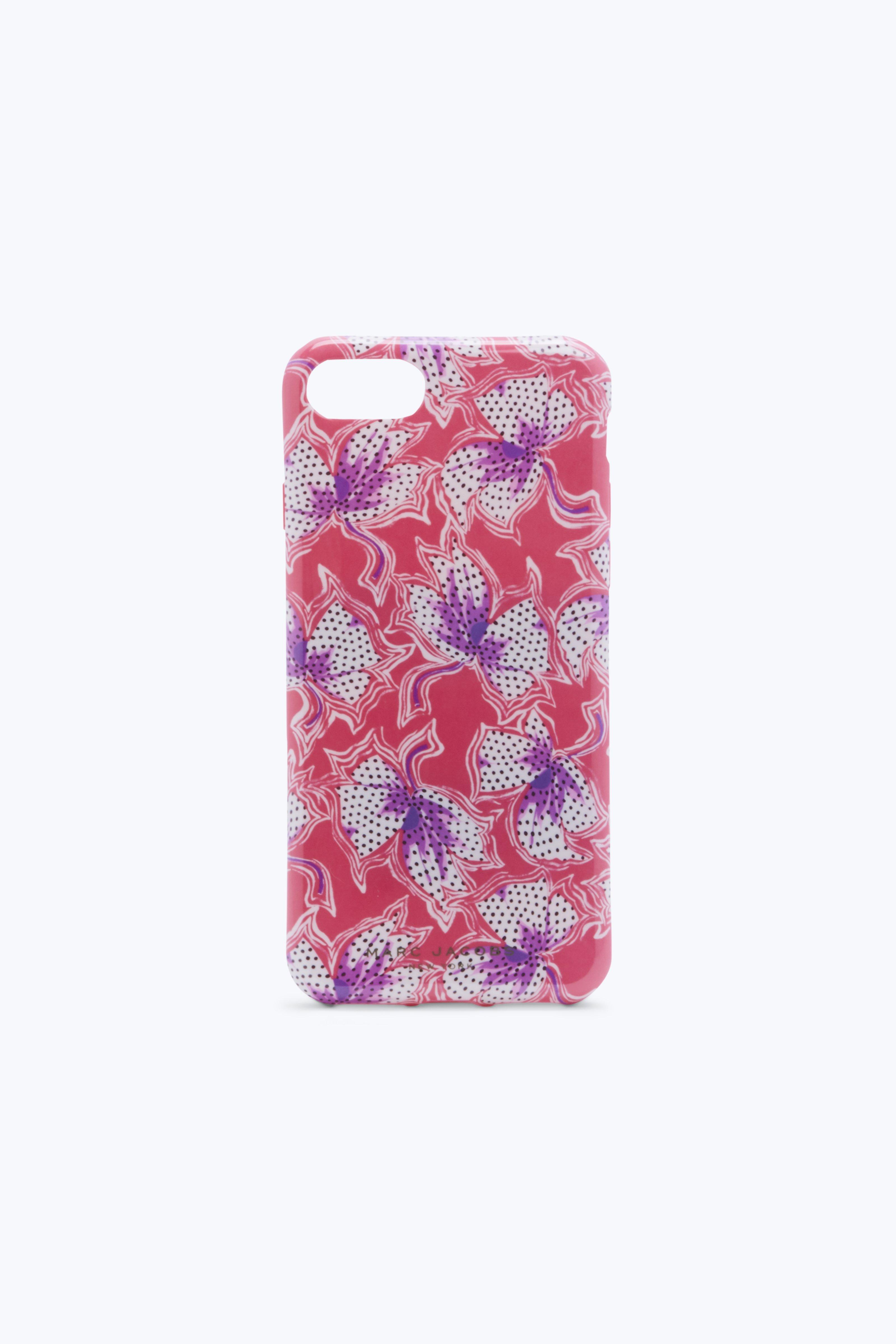 Marc Jacobs Spotted Lilly Iphone 6 / 6S / 7 Case In Red Multi