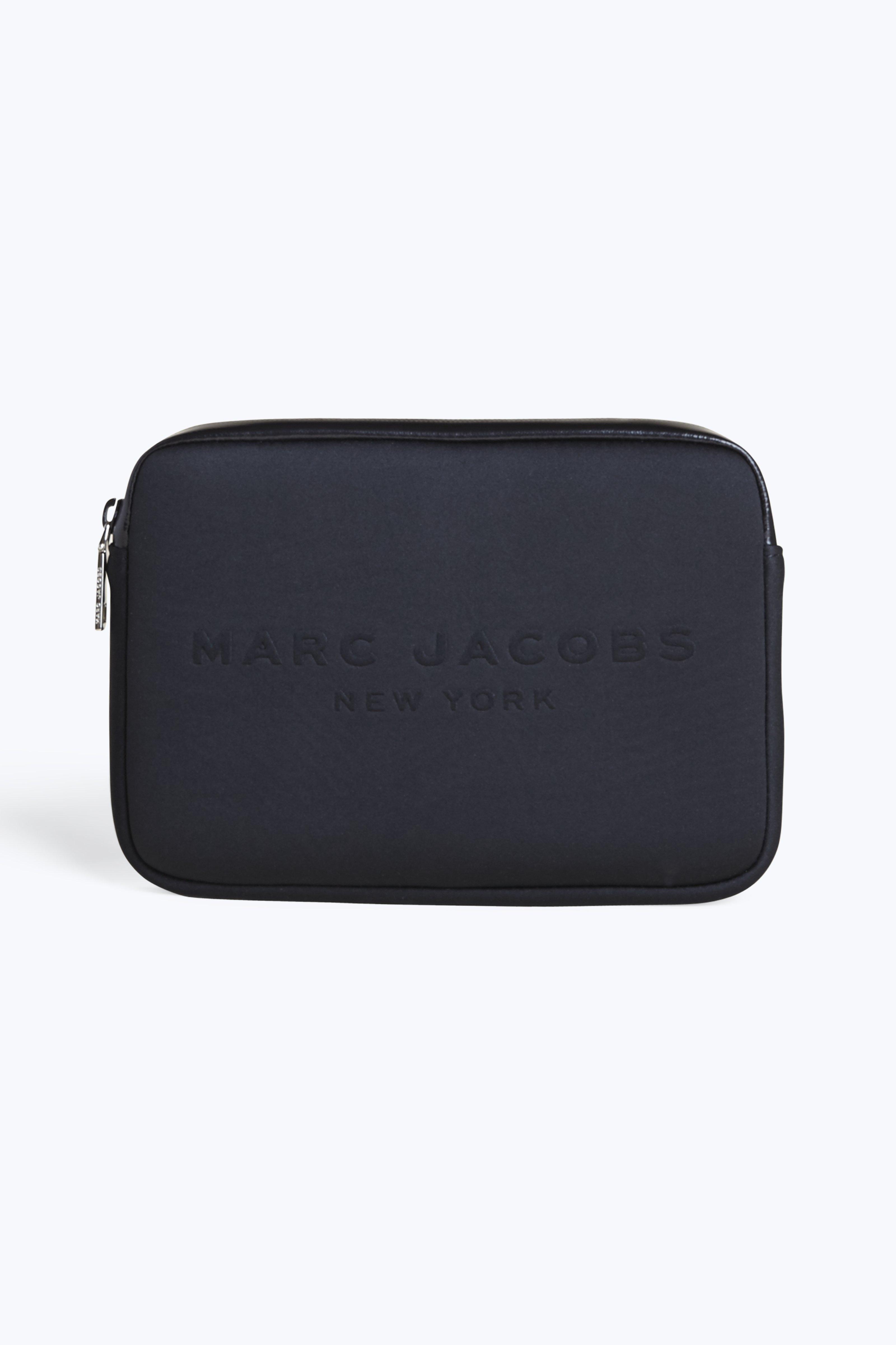 """Marc Jacobs Neoprene 11"""" Computer Case In Black"""