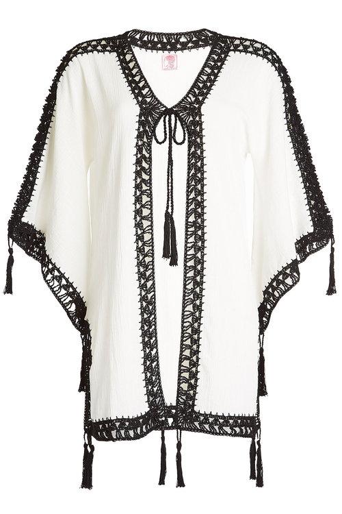Anna Kosturova Cotton Cover-Up In White