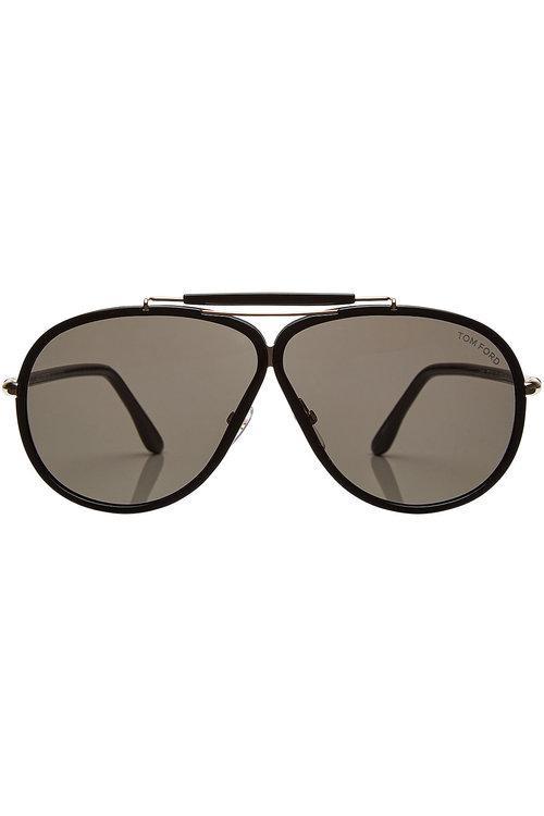 Tom Ford Aviator Sunglasses In Black