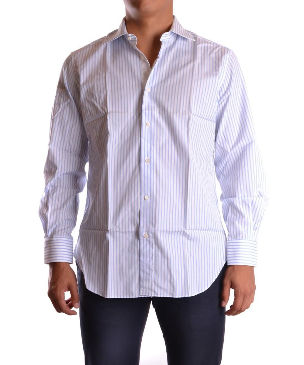 Ermanno Scervino Men's  White Cotton Shirt