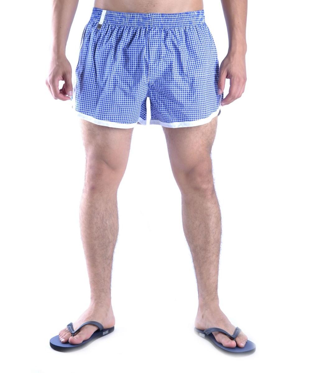 Dior Men's  Blue Cotton Trunks