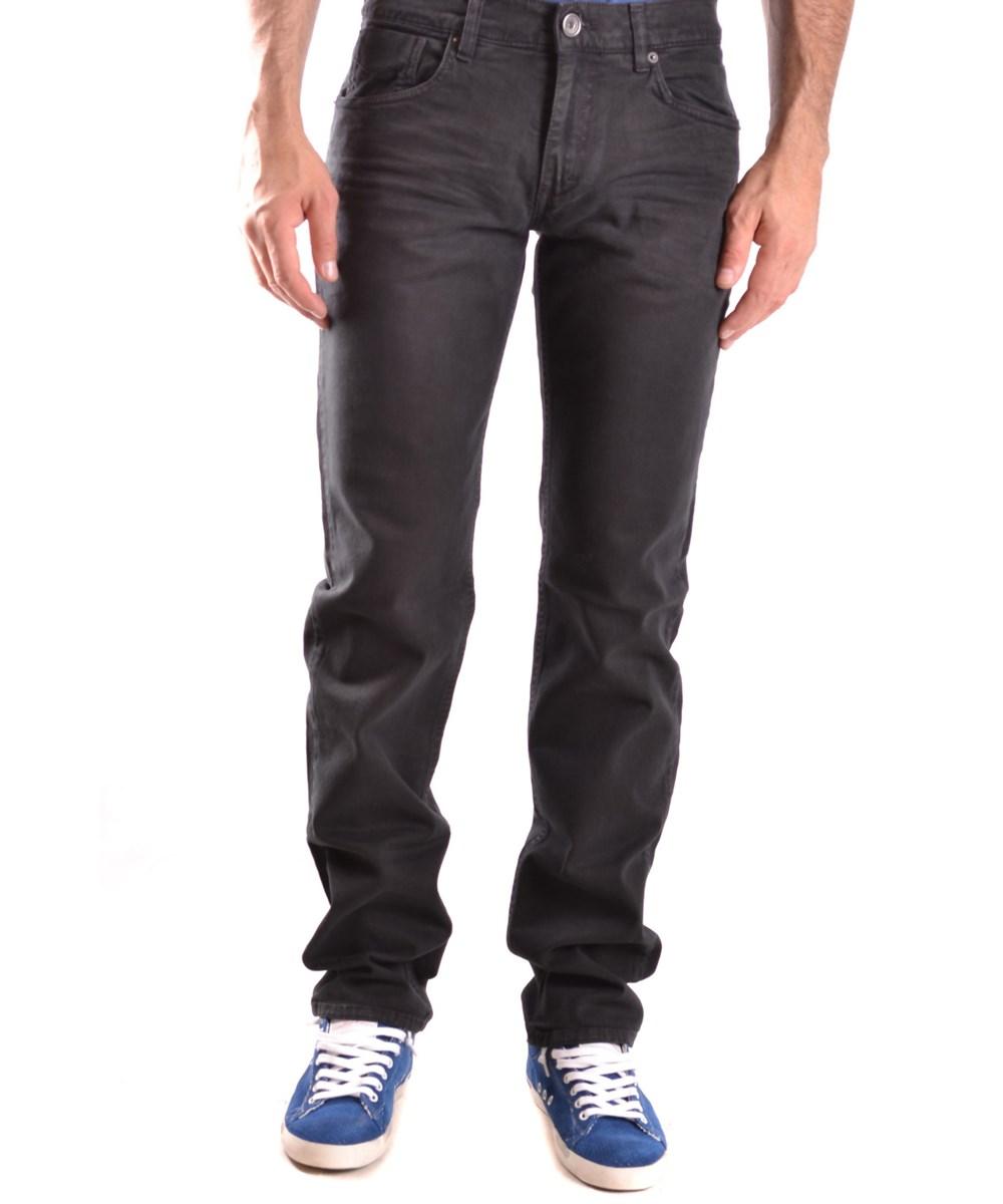 Bikkembergs Men's  Black Cotton Jeans