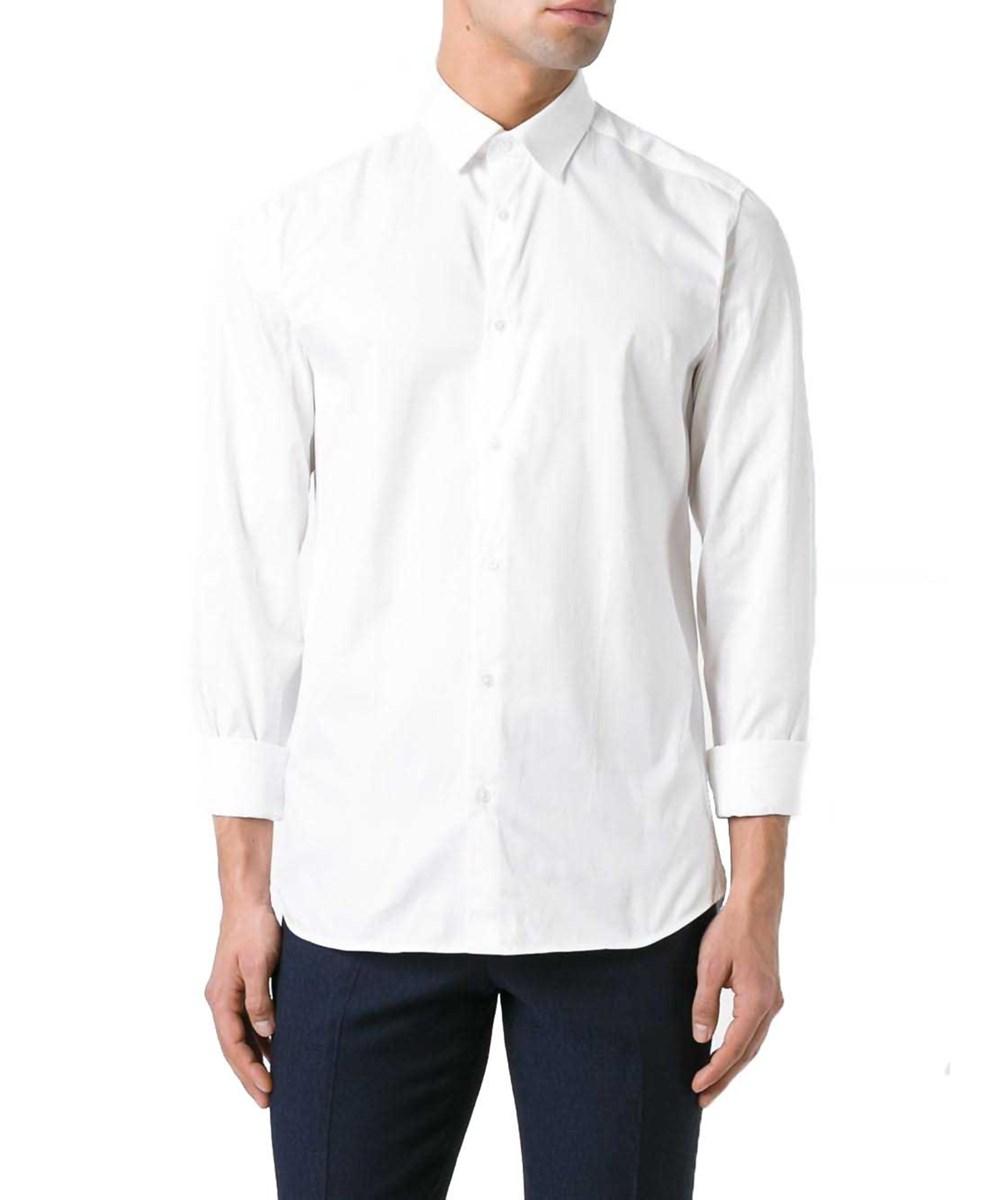 Kenzo Men's  White Cotton Shirt