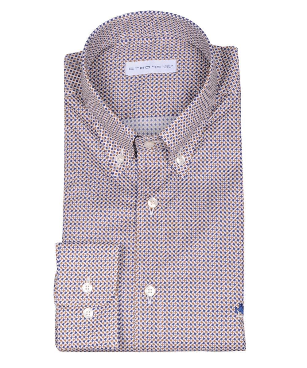 Etro Men's  Multicolor Cotton Shirt In Multiple Colors
