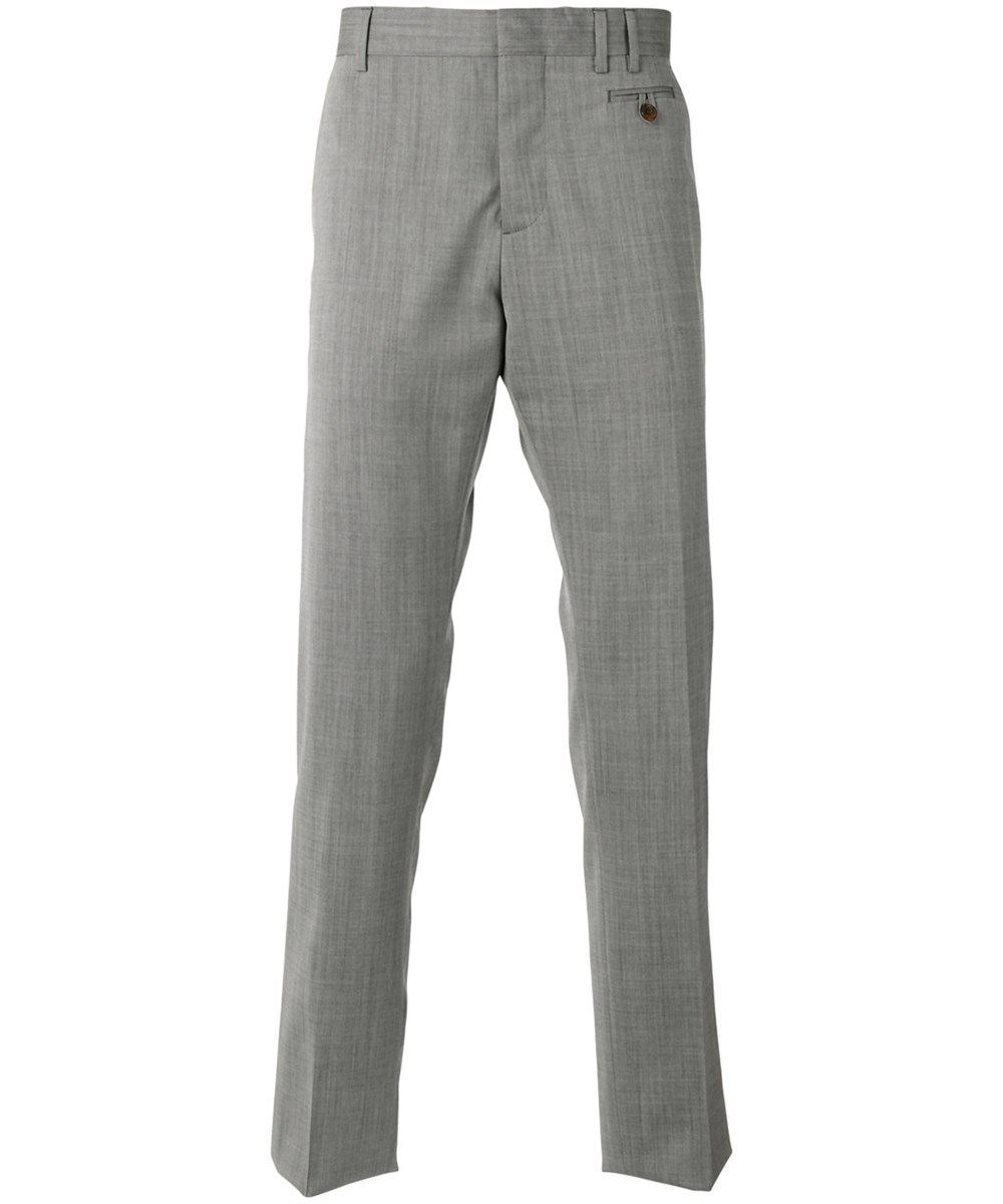 Vivienne Westwood Men's  Grey Wool Pants