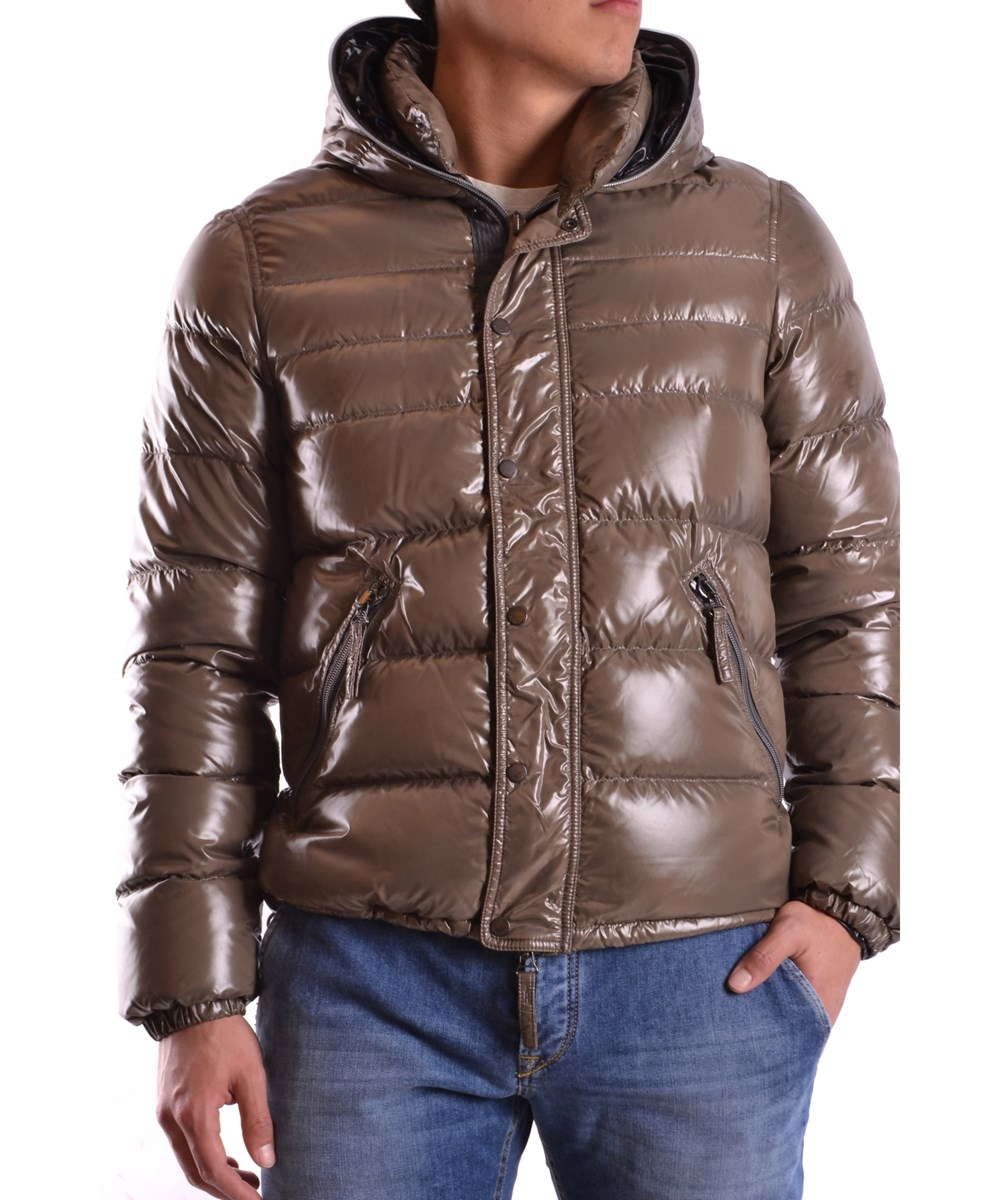 Duvetica Men's  Brown Polyamide Down Jacket