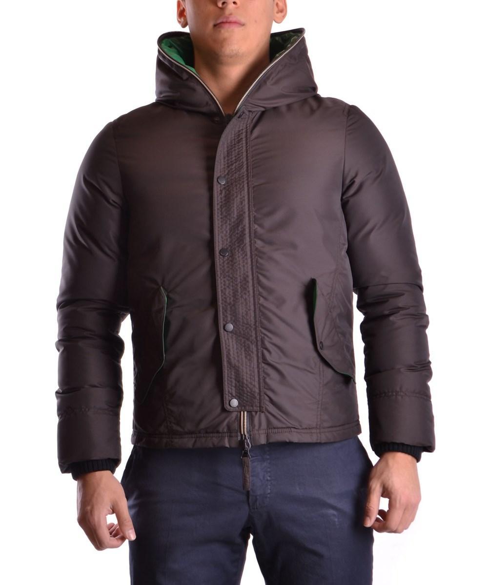 Duvetica Men's  Brown Polyamide Outerwear Jacket