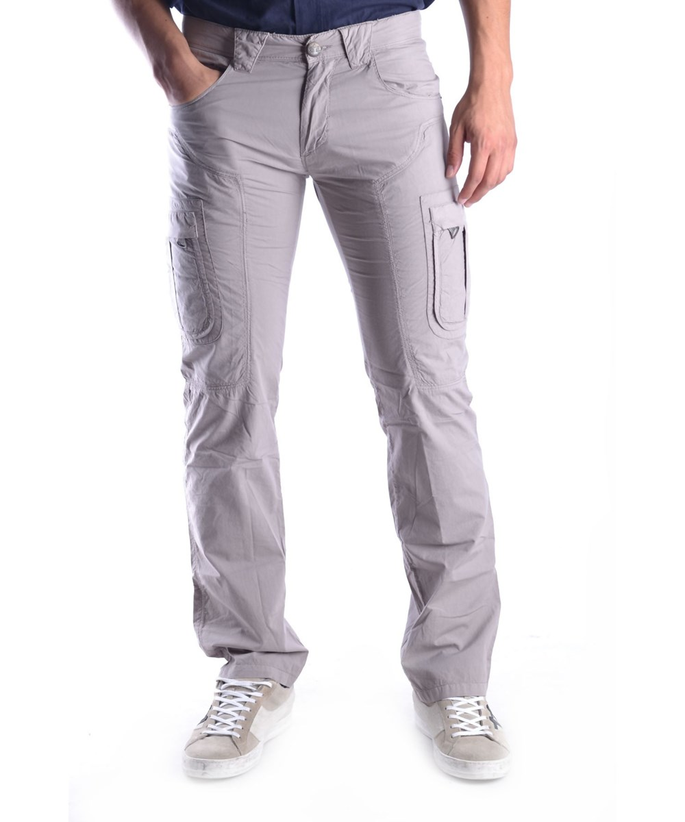 Ermanno Scervino Men's  Grey Cotton Pants