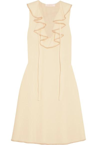 See By ChloÉ Ruffled Crepe Dress