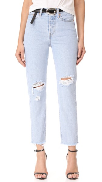 Levi's Wedgie Jeans In Kiss Off
