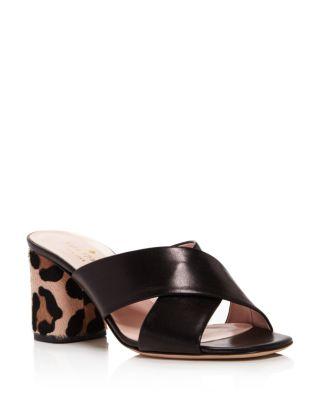 Kate Spade Denault Slide Sandal In Black