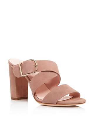 Kate Spade Orchid Slide Sandal In Fawn/Gold