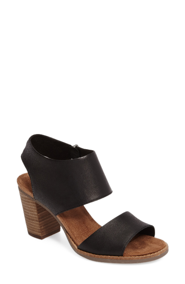 Toms Majorca Sandal In Black