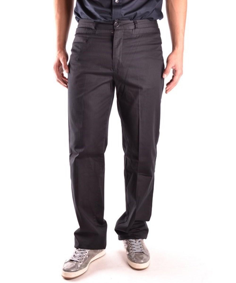Bikkembergs Men's  Black Cotton Pants