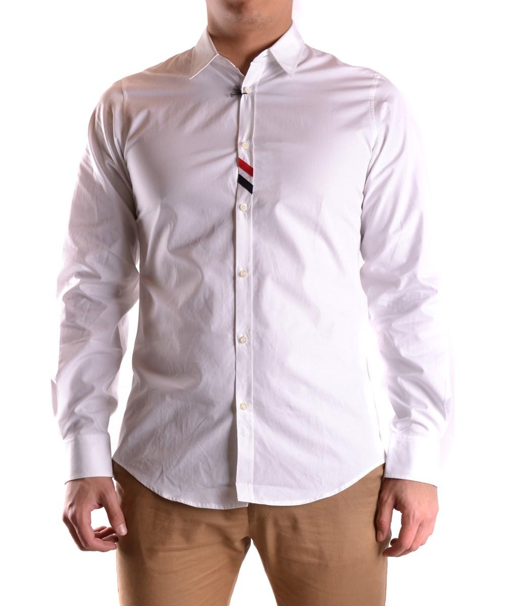 Dsquared2 Men's  White Cotton Shirt