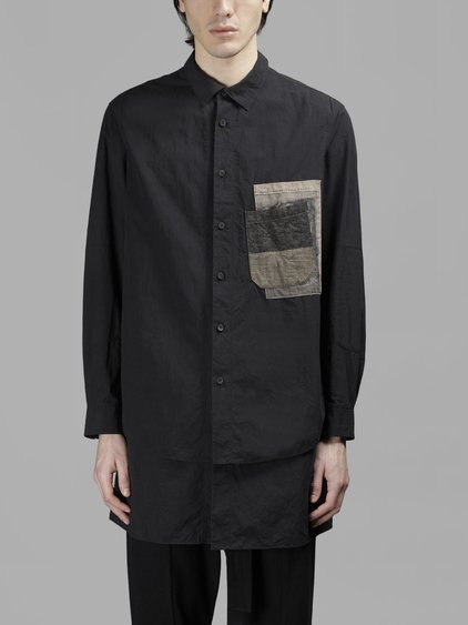 Ziggy Chen Shirts In  Black
