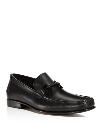 Salvatore Ferragamo Gancio Bit Loafers - 100% Exclusive In Nero Black