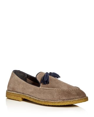 Alberto Fasciani Torres Tassel Loafers In Sand