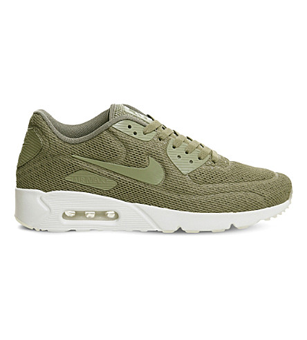 Nike Men's Air Max 90 Ultra 2.0 Lace Up Sneakers In Brown