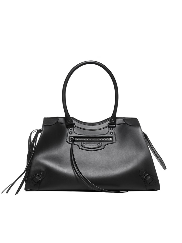 Balenciaga Neo Classic Top Large Handle Bag In Black