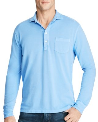 Polo Ralph Lauren Featherweight Classic Fit Polo Shirt In Harbor Island Blue