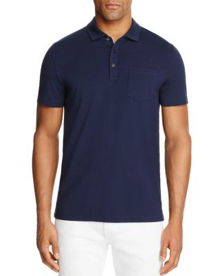 Michael Kors Bryant Regular Fit Polo Shirt - 100% Exclusive In Midnight Blue