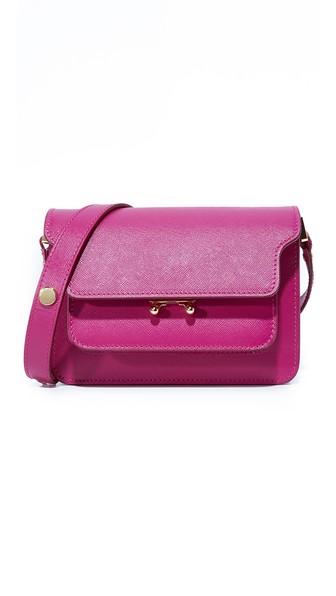 Marni Shoulder Bag In Cassis