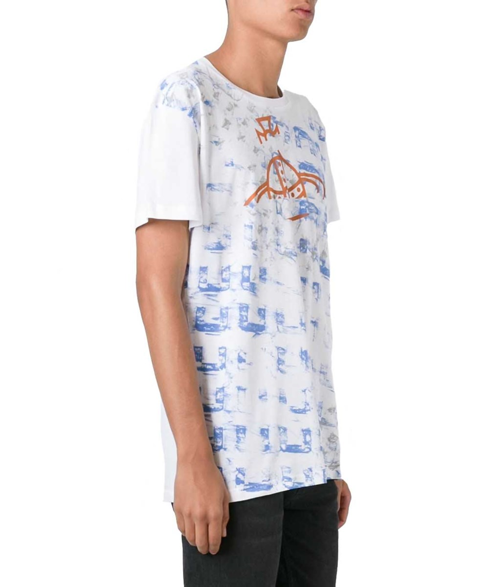 Vivienne Westwood Men's  White Cotton T-Shirt