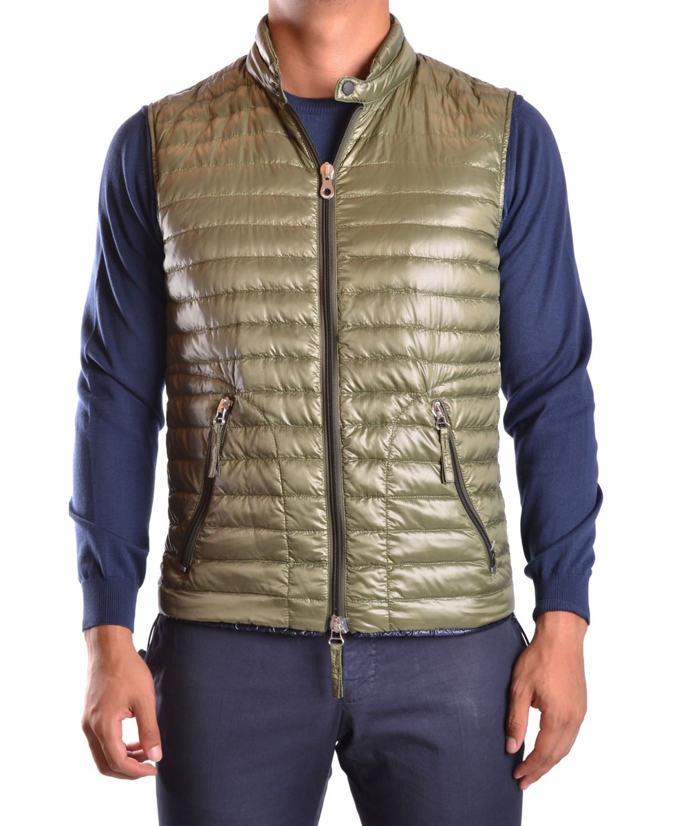 Duvetica Men's  Green Polyamide Vest